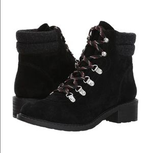 Suede Lace Up Hiker Boot